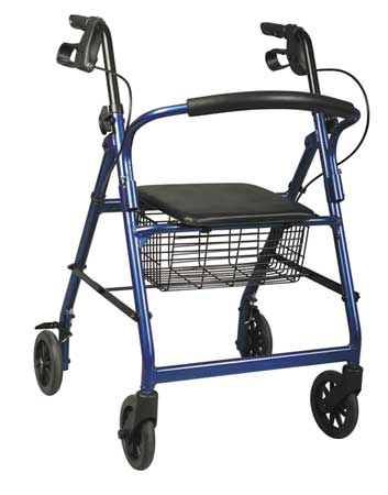 Blue Basic Rollator