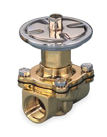 Air Operated Valve, 2-Way, NC, 1 In, FNPT
