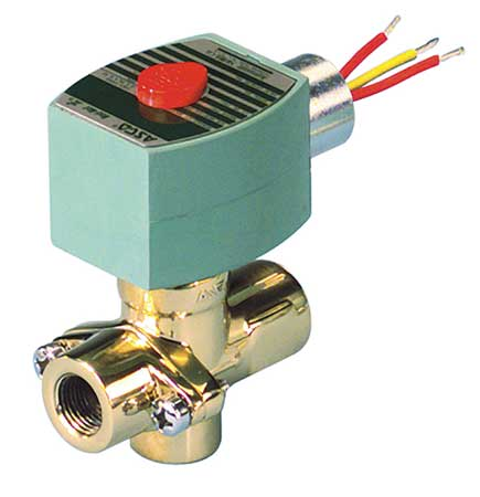 "1/2"" NPT 2-Way Steam Solenoid Valve 120VAC"