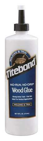 Wood Glue, Molding And Trim, 16 Oz, Beige