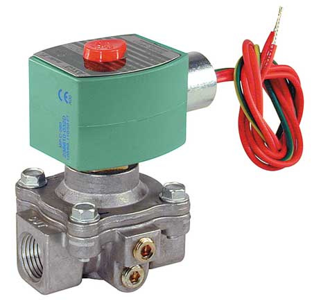 "1/2"" NPT 2-Way Fuel Gas Solenoid Valve 120VAC"