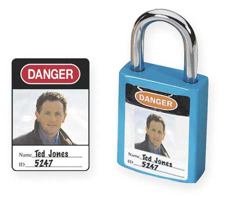Padlock Identification Label, PK6