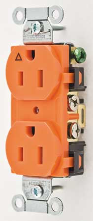 15A Duplex Receptacle 125VAC 5-15R OR