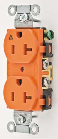 20A Duplex Receptacle 125VAC 5-20R OR