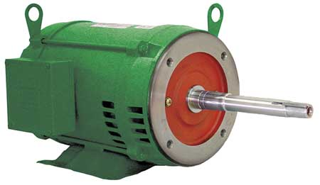Pump Mtr, 3ph, 15hp, 1775, 208-230/460, 254JP
