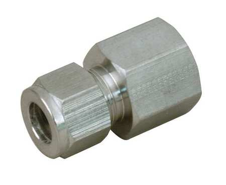 "1/2"" x 5/8"" A-LOK x FNPT SS Female Connector"