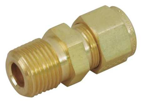 "3/4"" A-LOK x MNPT Brass Connector"