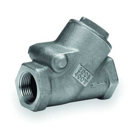 "1-1/2"" FNPT Bronze Swing Y Check Valve"