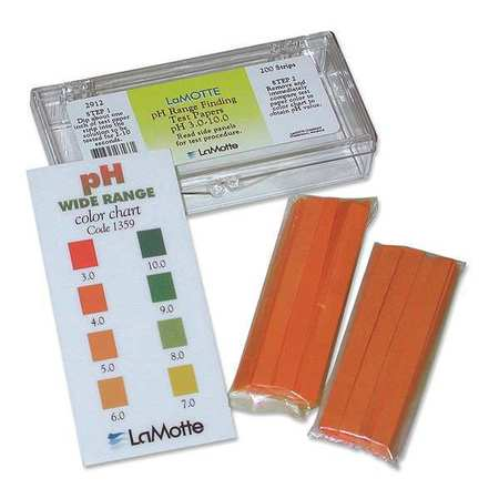 Test Strip, pH,  Range 3 to 10, PK200