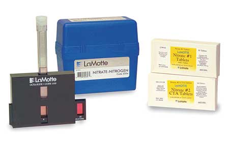 Water Testing Kit,  Nitrate, 0 to 15 PPM
