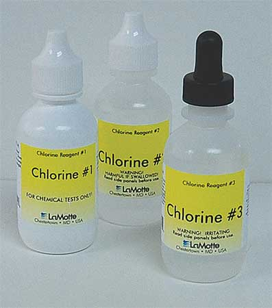 Reagent Refill, Chlorine, 0 to 200 PPM