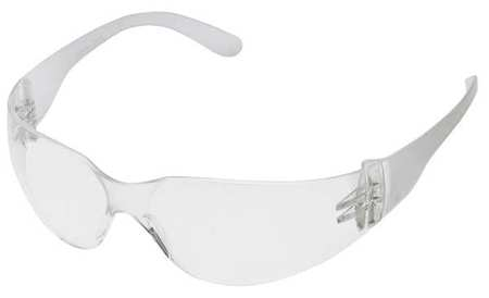 Condor Clear Safety Glasses,  Wraparound
