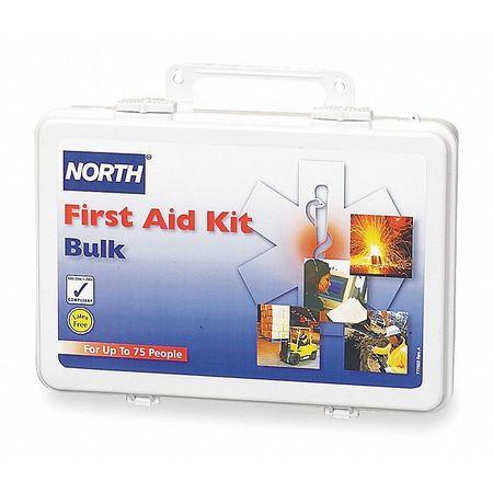 First Aid Kit, Bulk, White, 75 People