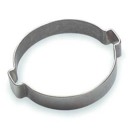 Hose Clamp, SS, Nom.Size. 9/16 In., PK100