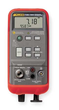 Pressure Calibrator, -12 to 100 psi