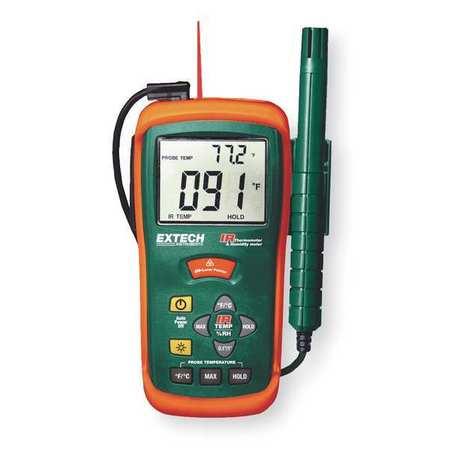 Hygro-Thermometer, w/IR Thermometer