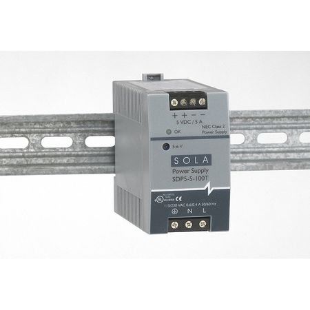 DC Power Supply, 5-6VDC, 5A, 47-63Hz