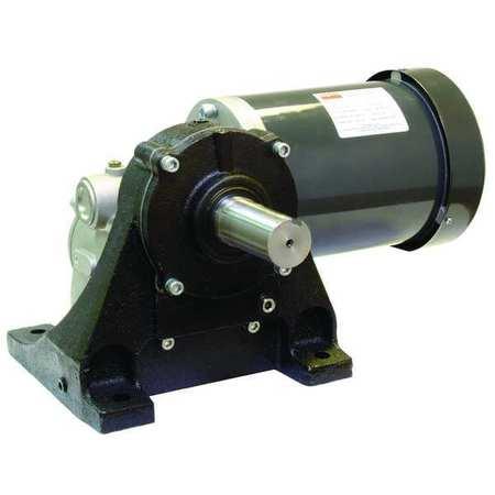 AC Gearmotor, 37 rpm, TEFC, 208-230/460V