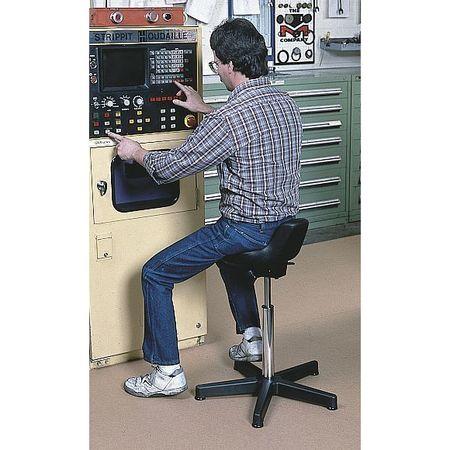 stool ergonomic sit com globalindustrial g stand stools work polyurethane office