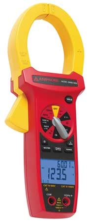 Digital Clamp Meter, 1000A, 750V, TRMS
