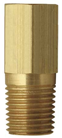 Test Plug Extension, 1/4 In NPT, 1.75 In