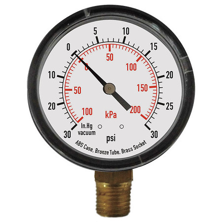 Compound Gauge, Test, 3-1/2 In