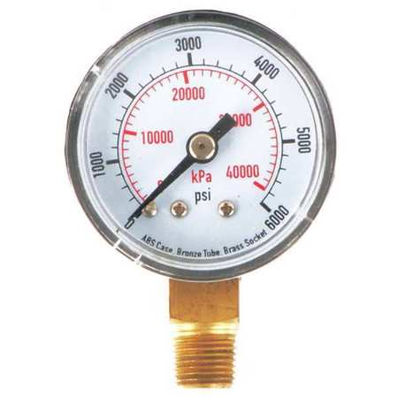Pressure Gauge, Test, 1-1/2 In
