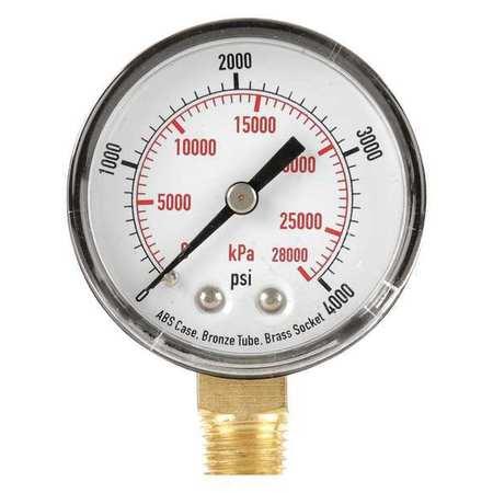 Pressure Gauge, Test, 2 In
