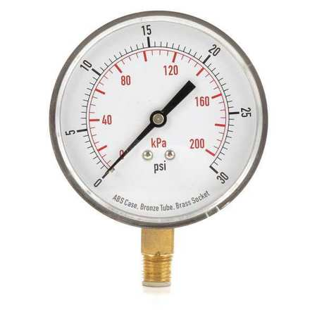 Pressure Gauge, Test, 3-1/2 In