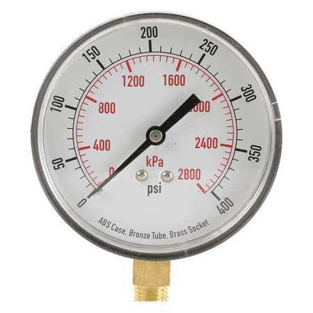 Pressure Gauge, Test, 3-1/2 In