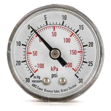 Compound Gauge, Test, 1-1/2 in.