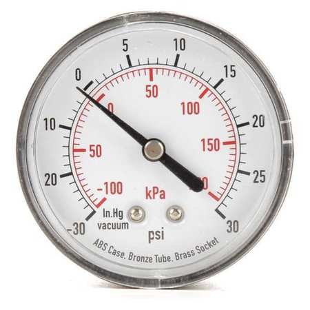 Compound Gauge, Test, 2-1/2 In