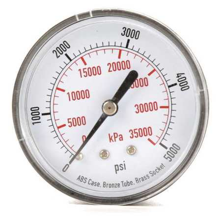 Pressure Gauge, Test, 2-1/2 In