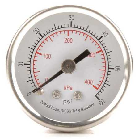 Pressure Gauge, Test, 1-1/2 In