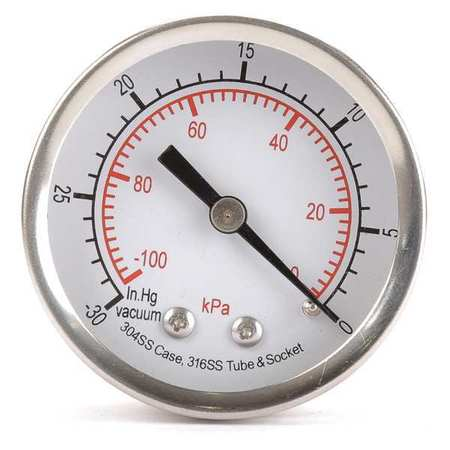 Vacuum Gauge, Test, 2 In