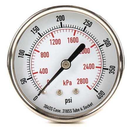 Pressure Gauge, Test, 2-1/2 In