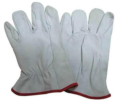 Elec. Glove Protector, 9, White, PR