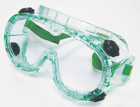Chem Splash Goggles, Antfg, Clr