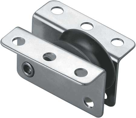 Pulley Block, Wire Rope, 830 lb.