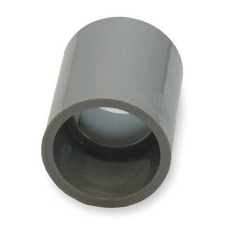 Coupling,  One Piece,  PVC