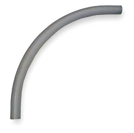"Elbow,  90 Degree,  24"" Radius, 3 In., PVC"
