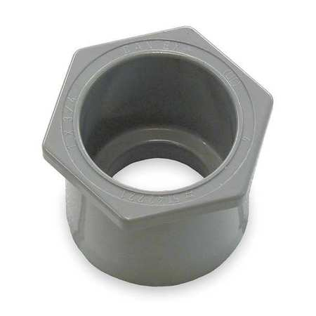 Reducer, 1-1/4 x 1 In Conduit, PVC