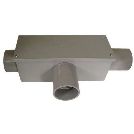 Conduit Outlet Body, PVC, T