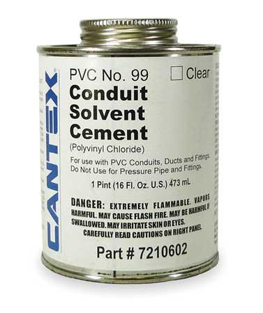 Cement, Low VOC, 16 Oz, Clear