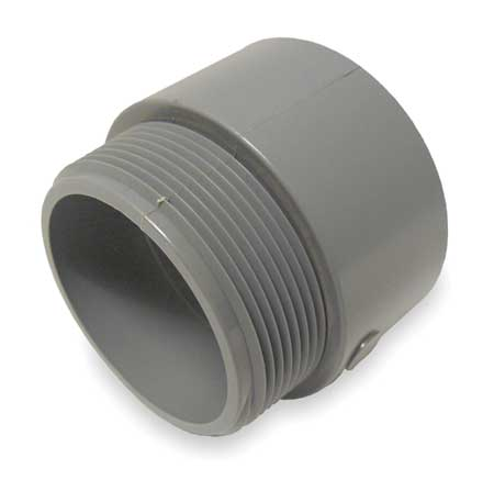 Male Adapter,  One Piece,  PVC
