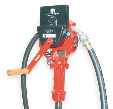 Hand Drum Pump,  Rotary,  3/4In FNPT