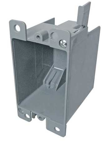 Electrical Box, 1 Gang, 14 cu. in., PVC