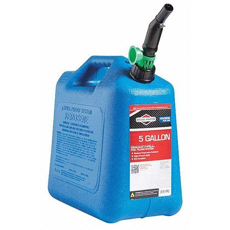 Kerosene Can, 5 Gal., Blue