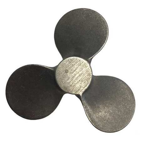 Propeller, 8 In, Lft Rotatn, 1.250 In Bore