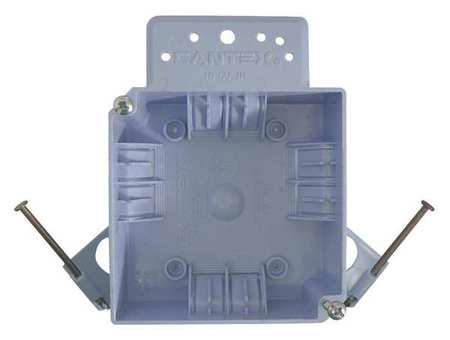 Electrical Box, 4 in., 18 cu. in., PVC